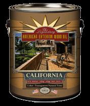 California kültéri olaj